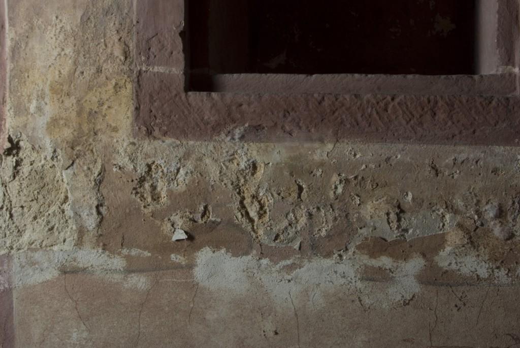 Bauschadensbild in Detail