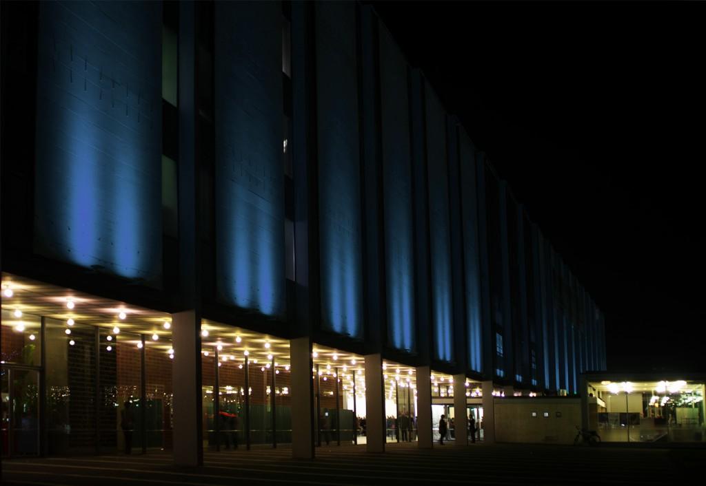 Architekturfoto Abends aufgenommen