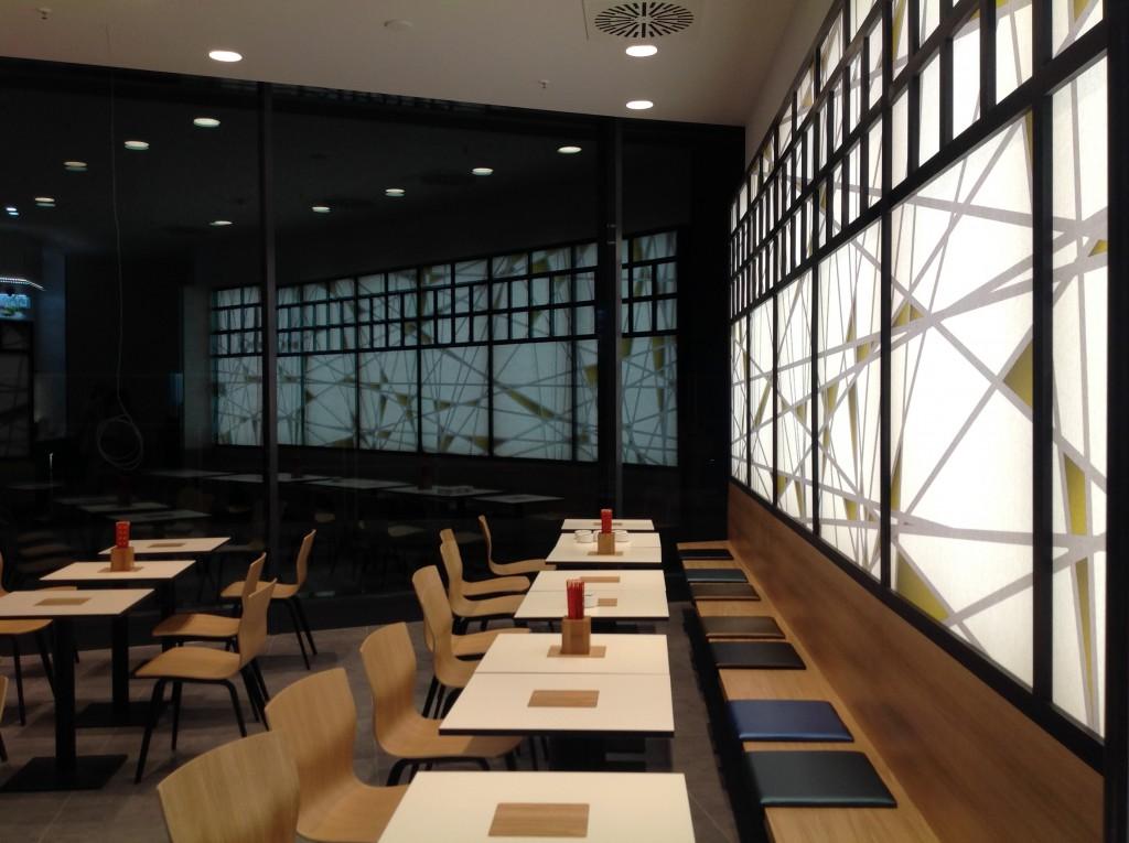 Restaurant gestaltet durch Innenarchitekt Thasler