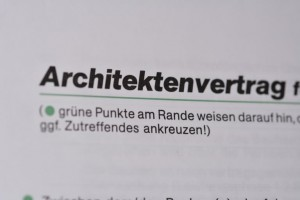Architektenvertrag , Foto Preikschat