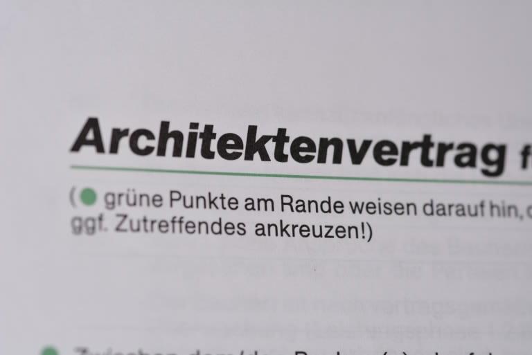 architektenvertrag foto preikschat - Architektenvertrag Muster Kostenlos