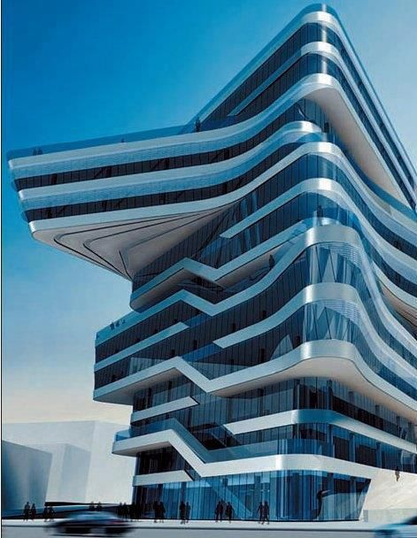 Spiral Tower by Z.Hadid, Barcelona