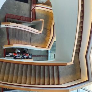 Facebook HQ Stairs © andrewblotky
