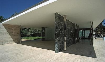 Der Barcelona-Pavillon (Foto Sprachcafé Düsseldorf, Flickr)