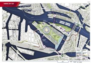 Lageplan Erschließungskonzept © Architekten von Gerkan, Marg und Partner