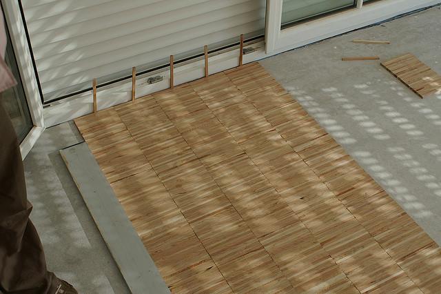 Im Ausbau wird der Boden gefertigt (Foto: Kornelia Haslbeck via Flickr)