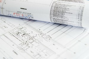 Baupläne auf Papier_CC0 Public Domain