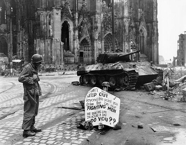 Der Dom zu Kriegszeiten