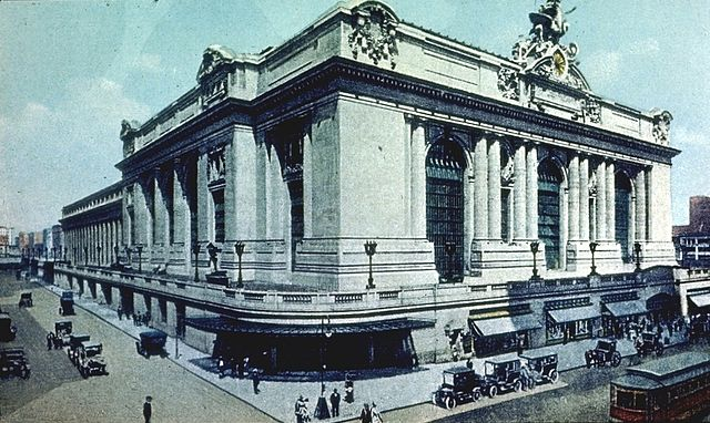 Die Grand Central Station kurz nach der Fertigstellung 1913 (Creative Commons)