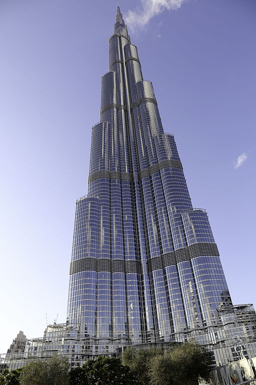 Das wohl bekannteste Gebäude SOMs: Burj Khalifa (Foto Vincent Eisfeld, CC 3.0)