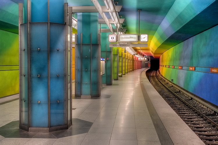 "Subway station ""Candidplatz"" in Munich"