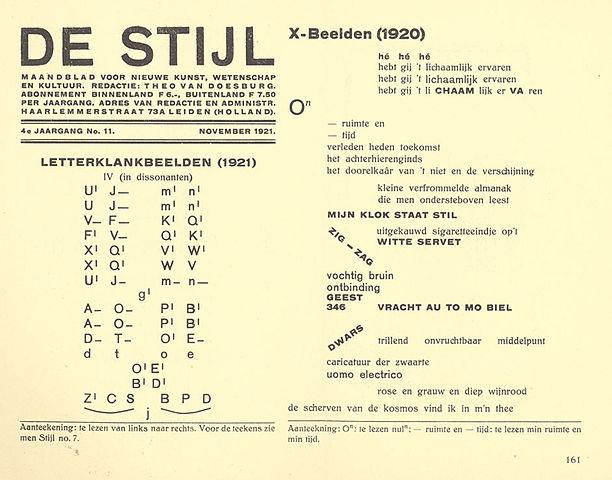 Die Zeitschrift De Stijl