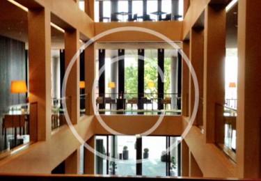 Bild #00022, Innenraumaufnahme des Hotel Riverside in Hamburg, Foto Preikschat