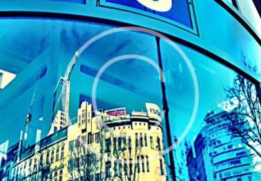 Bild #00044, Kreativ, Streetart, Berlin im Spiegel, Foto Preikschat