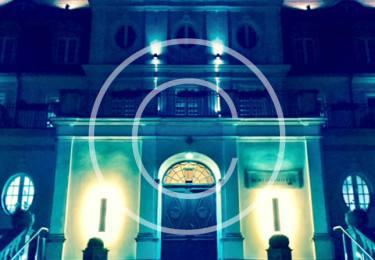 Bild #00050, Nachtaufnahme, Schloss Fleesensee, Foto ArchitektenScout